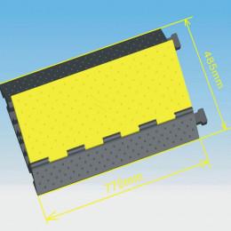 Invotone CG5 - защитный порог для кабеля, 5 каналов, 770х485х65