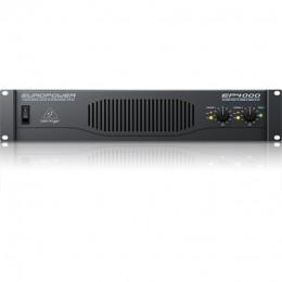 Behringer EP4000- усилитель мощности, 2х950 Вт/4 Ом,2х550 Вт/8 О