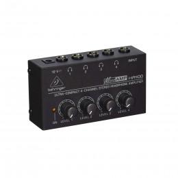 Behringer HA400 - 4-х канальный стереофон. усилитель-распределит