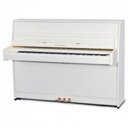 KAWAI K15E WH/P - пианино, 110х149х59, 196 кг., цвет белый полир