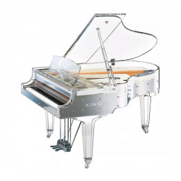 KAWAI CR-40 Transparency - прозрачный акриловый рояль, 185х150х1
