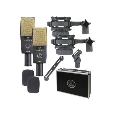 Стерео пара студийных микрофонов AKG C414XLII MATCHED PAIR