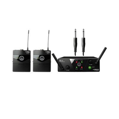 Радиосистема инструментальная AKG WMS40 MINI2 Instrumental Set US25AC