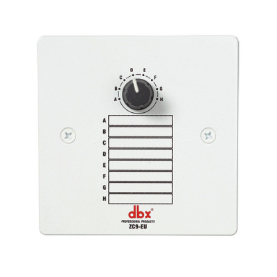Настенный контроллер dbx ZC9