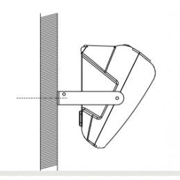 FBT SM-U12 White - Кронштейн для установки на стойку монитора StageMax