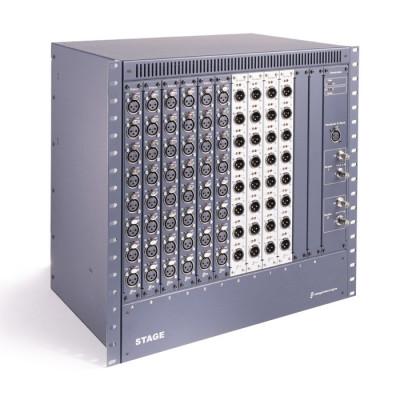 Блок входов выходов с двумя блоками питания AVID D-SHOW STAGE RK REDUN PSU