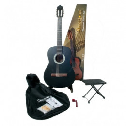 Barcelona CG11K/BK - Набор:Классическая гитара, чехол, подставка, струны
