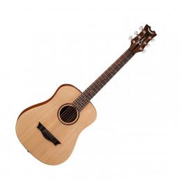 Dean FLY SPR - акустическая гитара, 3/4, ель , цвет - натур. матовый, чехол