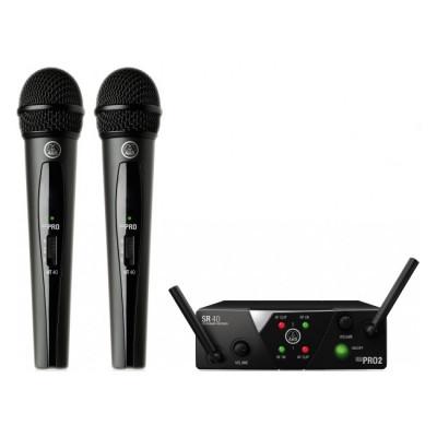 Вокальная радиосистема AKG WMS40 Mini2 Vocal Set BD US45A