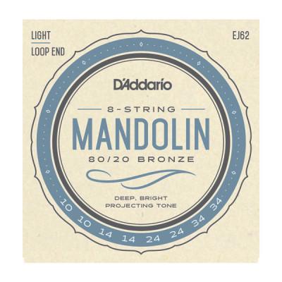 Струны для мандолины D'Addario EJ62