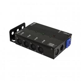 Involight DMXS4 - Сплиттер DMX сигнала, 1 вход XLR, 4 выхода XLR