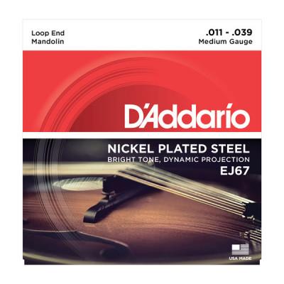 Струны для мандолины D'Addario EJ67