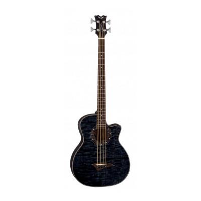 Бас-гитара электроакустическая Dean Eqaba TBK Exotice Quilt Ash A/