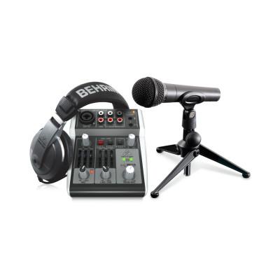 Комплект для домашней звукозаписи и Behringer PODCASTUDIO 2 USB