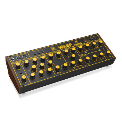Гибридный монофонический синтезатор Behringer WASP DELUXE
