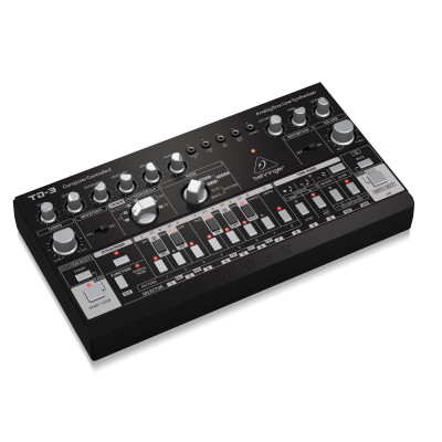 Аналоговый синтезатор Behringer TD-3-BK