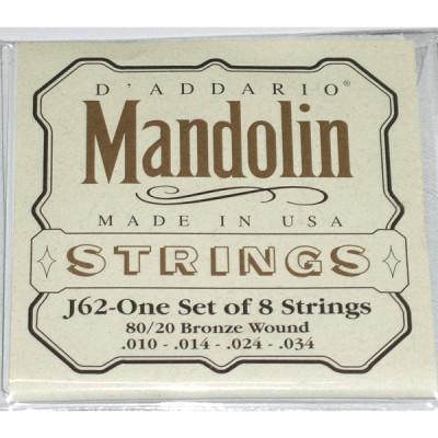 Струны для мандолины D'Addario J62